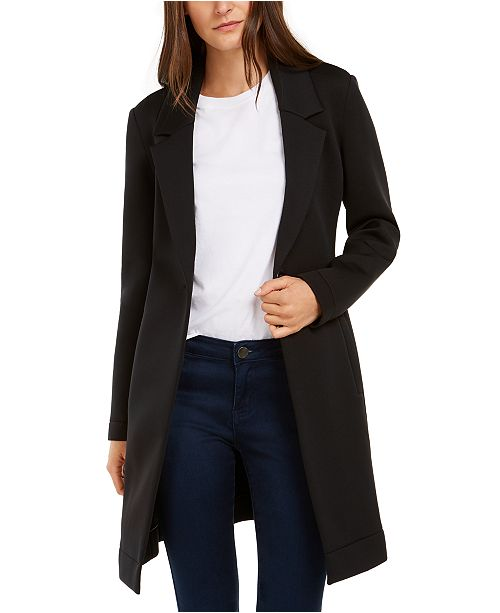 INC International Concepts INC Solid Scuba Cocoon Coat, Created for Macy's