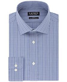 Men's Slim-Fit Ultraflex Check Dress Shirt