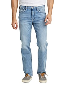 Men's Grayson Easy-Straight Fit Stretch Jeans