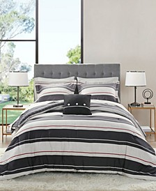 Dalton Reversible 8-Piece Queen Bedding Set