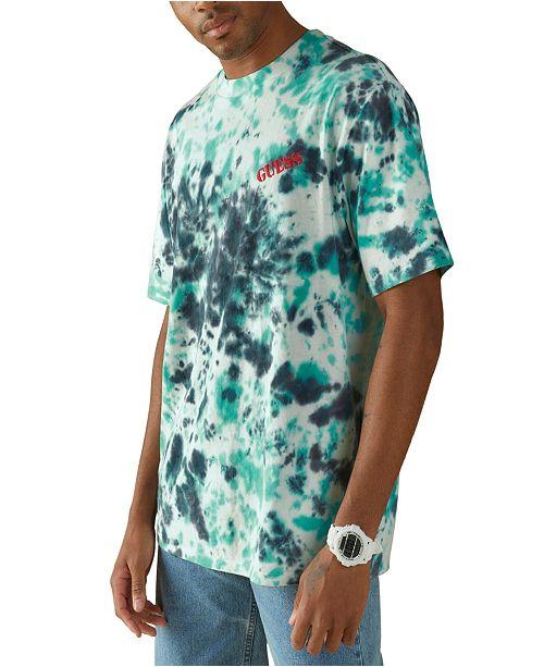 GUESS Men's Tie Dye T-Shirt