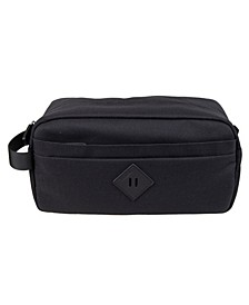 Men's Top Zip Fabric Travel Kit