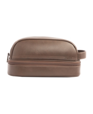 Men's Travel Kit with Zip Around Bottom Pocket