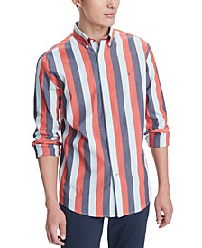 Men's Stretch Mitch Striped Shirt