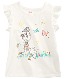 Toddler Girls Butterfly Catcher T-Shirt, Created for Macy's
