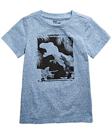 Little Boys Snow Nep Dino T-Shirt, Created for Macy's