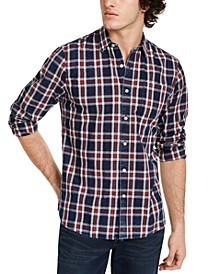 Men's Dio Plaid Shirt, Created for Macy's