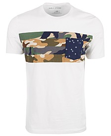 Men's Chect Pocket Multi-Camo T-Shirt, Created for Macy's