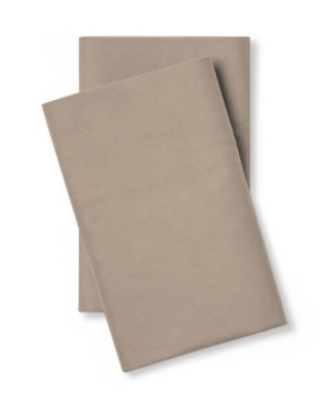Pillow Guy 400 Thread Count Cotton Percale King Pillow Case Pair Bedding