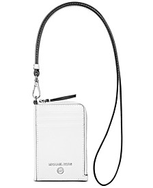 Jet Set Charm Small Leather ID Lanyard
