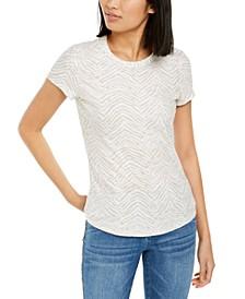 INC Printed Crewneck T-Shirt, Created for Macy's