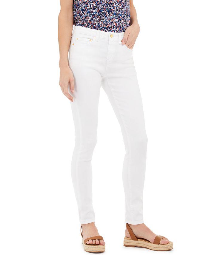 Michael Kors - Petite High-Rise Jeans