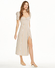 Striped Maxi Slip Dress, Created for Macy's