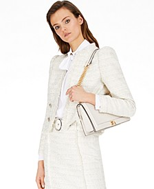 INC Fringe-Trim Tweed Jacket, Created for Macy's