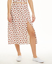 Floral Slip Midi Skirt, Created for Macy's