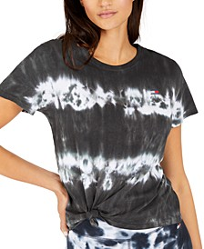 Tied Tie-Dyed T-Shirt