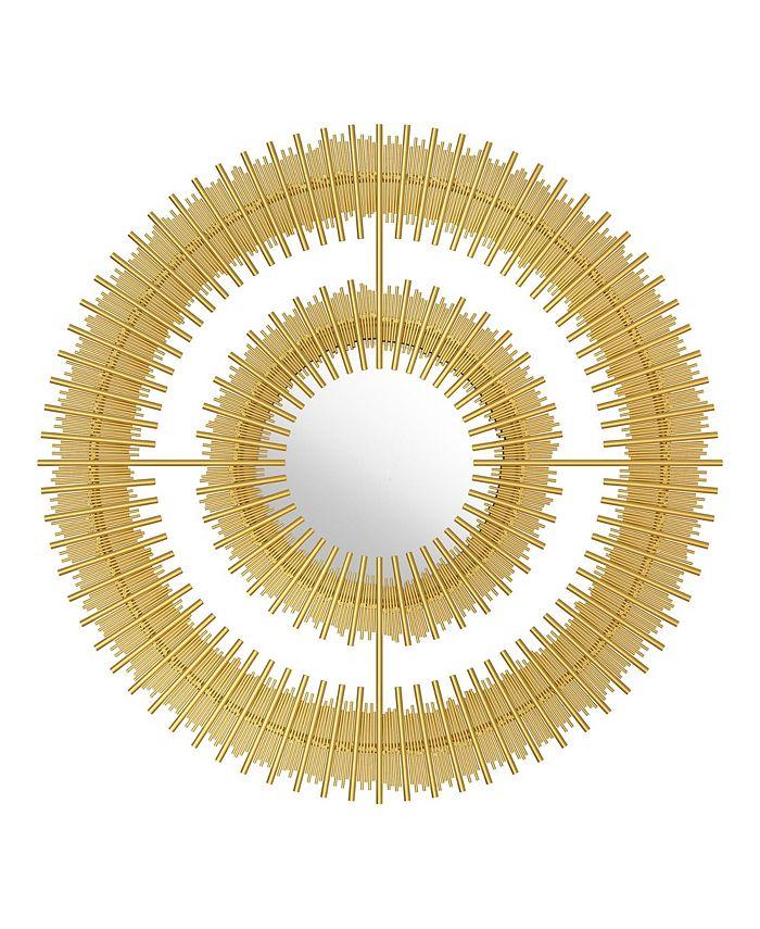 Zuo - Zeus Round Mirror Gold