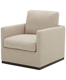 Joud Fabric Accent Swivel Chair