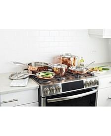 Copper Tri-Ply 8-Pc. Cookware set