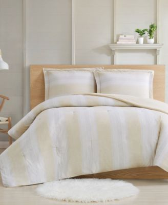 Farmhouse Stripe 2-Piece Twin XL Comforter Set