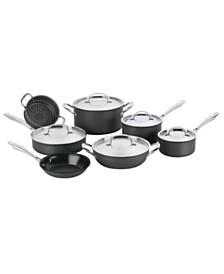 GreenGourmet™ Hard Anodized 12-Pc. Cookware Set