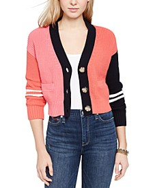 Colorblocked Cardigan