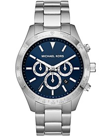 Men's Chronograph Layton Stainless Steel Bracelet Watch 45mm