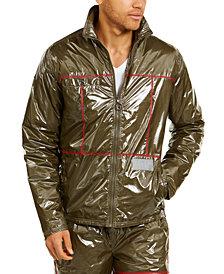 Fila Men's Columbus Shiny Taffeta Jacket