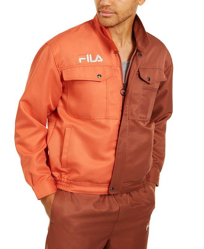 Fila Men's Kalyke Half & Half Jacket