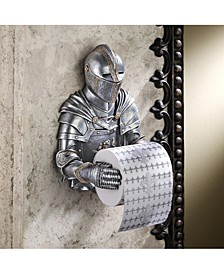 Knight To Remember Gothic Bath Tissue Holder