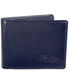 Two-Tone Leather Passcase Wallet