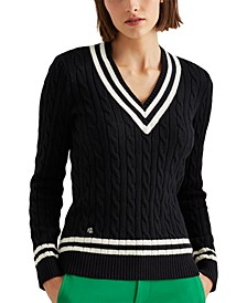 Petite Cricket Sweater