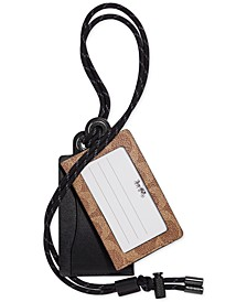 Men's Leather Card Case & Lanyard