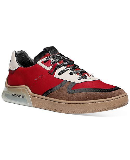 COACH Men's Colorblocked Tech Sneakers