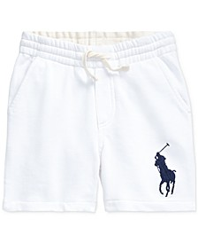 Little Boys Big Pony French Terry Shorts