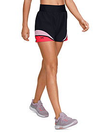 Under Armour Women's Warrior Colorblocked Training Shorts