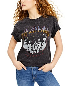 Def Leppard Oversized Graphic T-Shirt