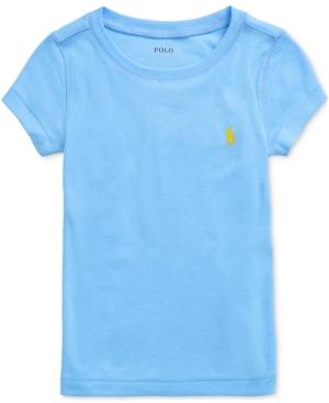 Polo Ralph Lauren Shorts TODDLER GIRLS SHORT-SLEEVE CREWNECK T-SHIRT
