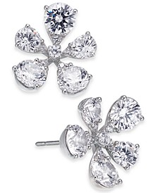 Cubic Zirconia Flower Stud Earrings, Created for Macy's