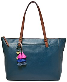 Rachel Zip Tote with Tassel