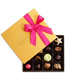 Chocolatier 19-Pc. Gold Gift Box
