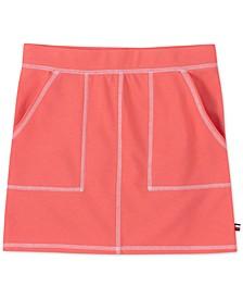 Big Girls Stitched-Trim Skirt