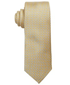 Big Boys Yellow Natte Silk Tie