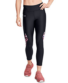 Under Armour Women's HeatGear® Printed Compression Leggings