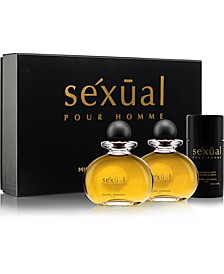 Men's Sexual Pour Homme 3-Pc. Gift Set, Created for Macy's