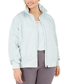 Plus Size Ruched Jacket, Created for Macy's