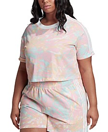 Plus Size Cropped T-Shirt