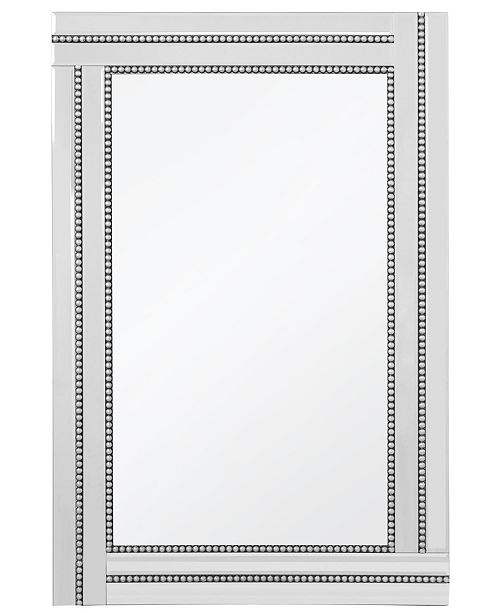 Cenports Princeton Beaded Frame Mirror