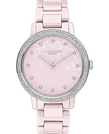 Audrey Blush Ceramic Bracelet Watch 35mm