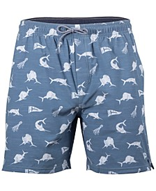 Men's The Hunt Aqua Shorts